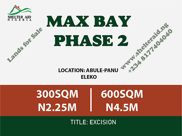 Lands for sale in nigeria